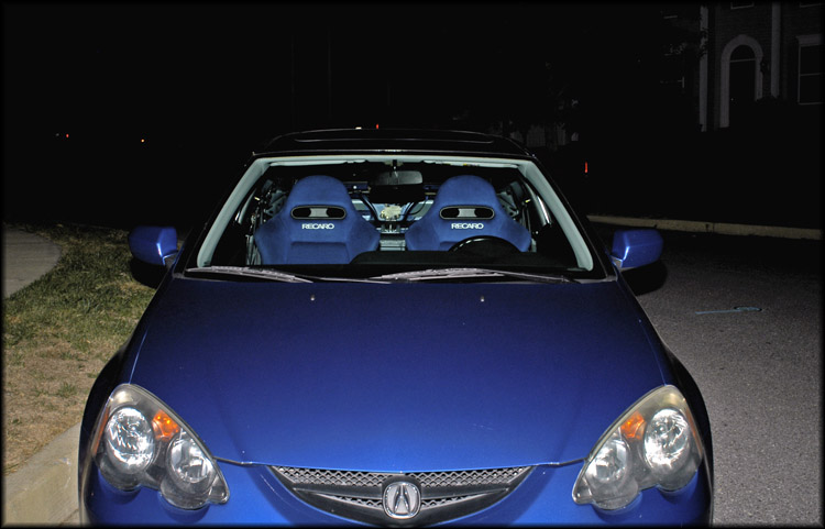 Pic Request Blue Recaros In Black Rsx Club Rsx Message Board